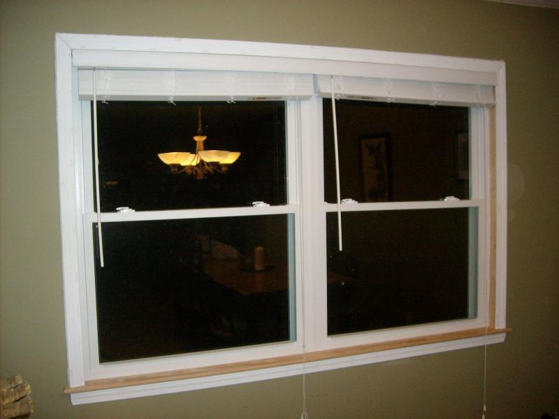 Replace your aluminum windows with vinyl like this one.